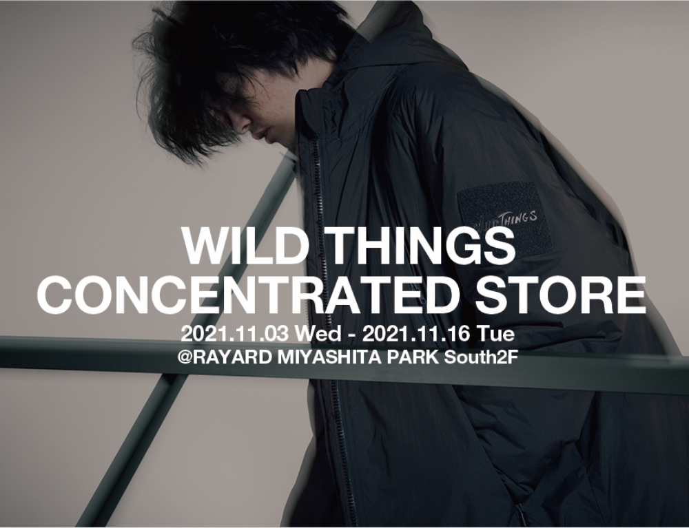 WILD THINGS CONCENTRATED STORE
