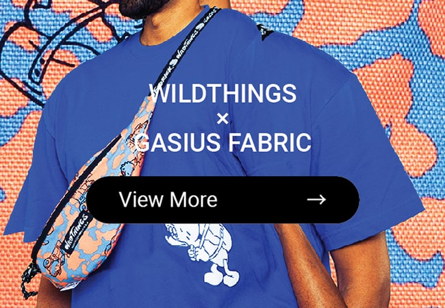 WILD THINGS × GASIUS FABRICK