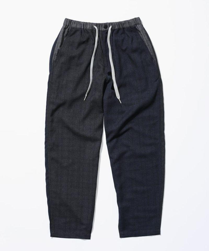 GLEN CHECK LUX PANTS(グレンチェック ラックスパンツ)