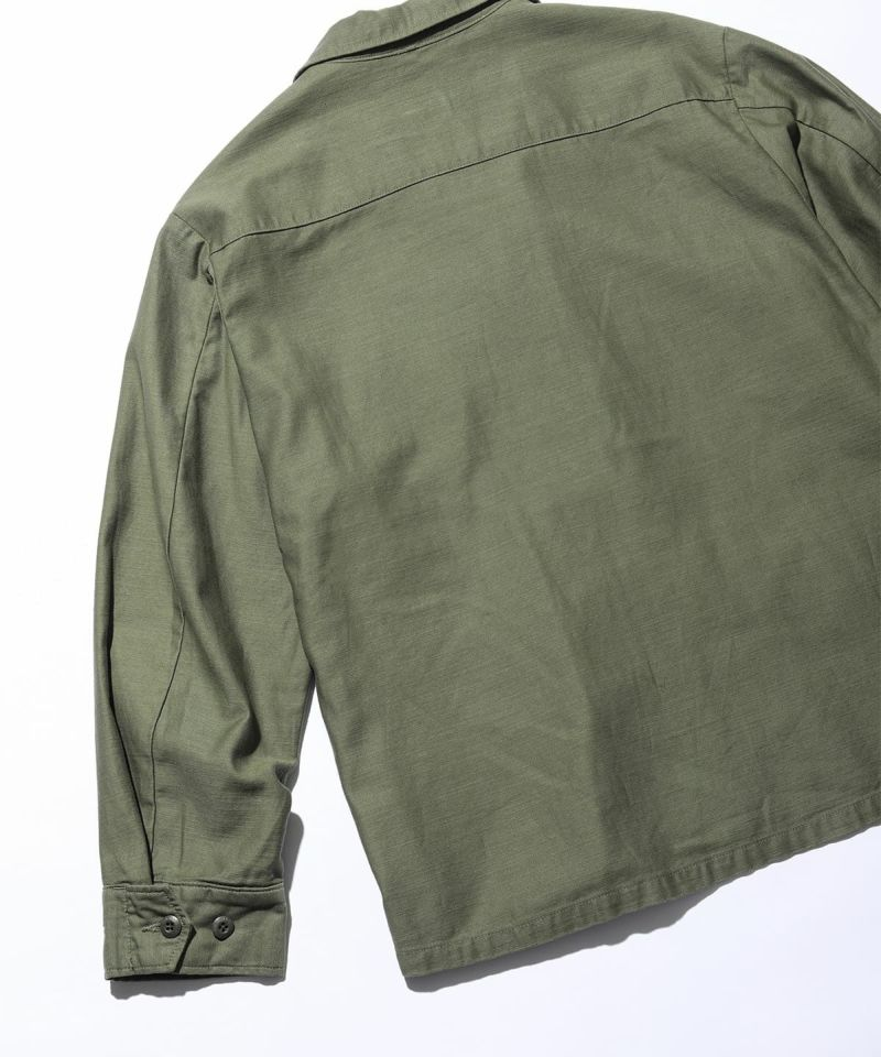BACKSATIN FIELD JACKET