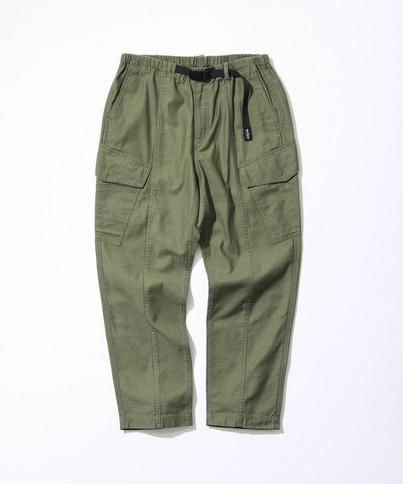 BACKSATIN FIELD CARGO PANTS