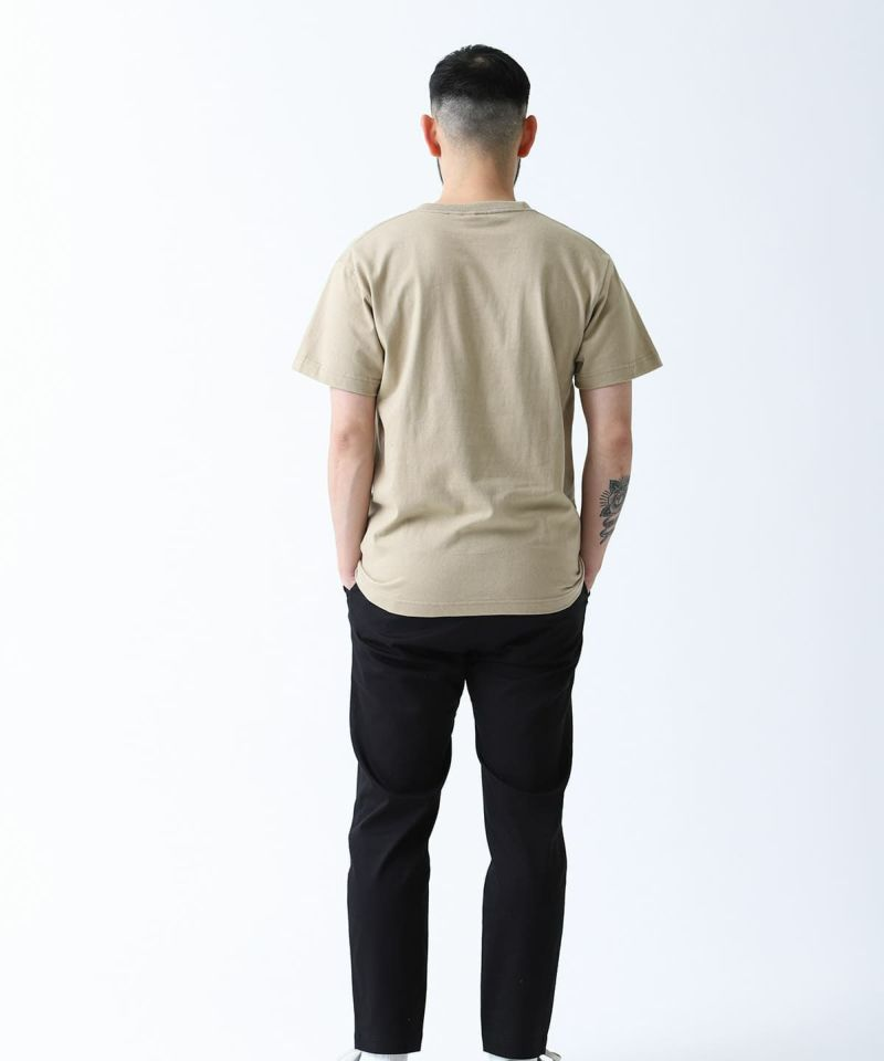 FLOCKING LOGO TEE