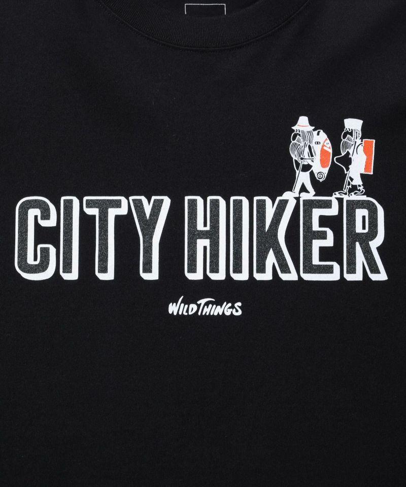 ワイルドシングス CITY HIKER LOGO T