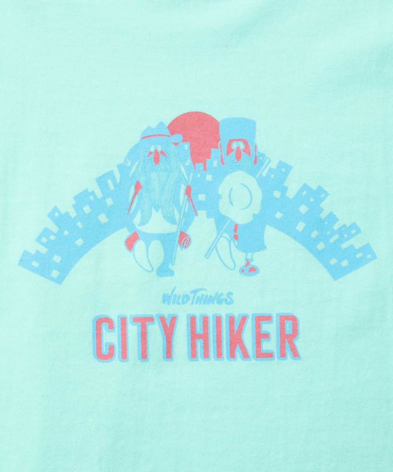 ワイルドシングス CITY HIKER T SHIRT