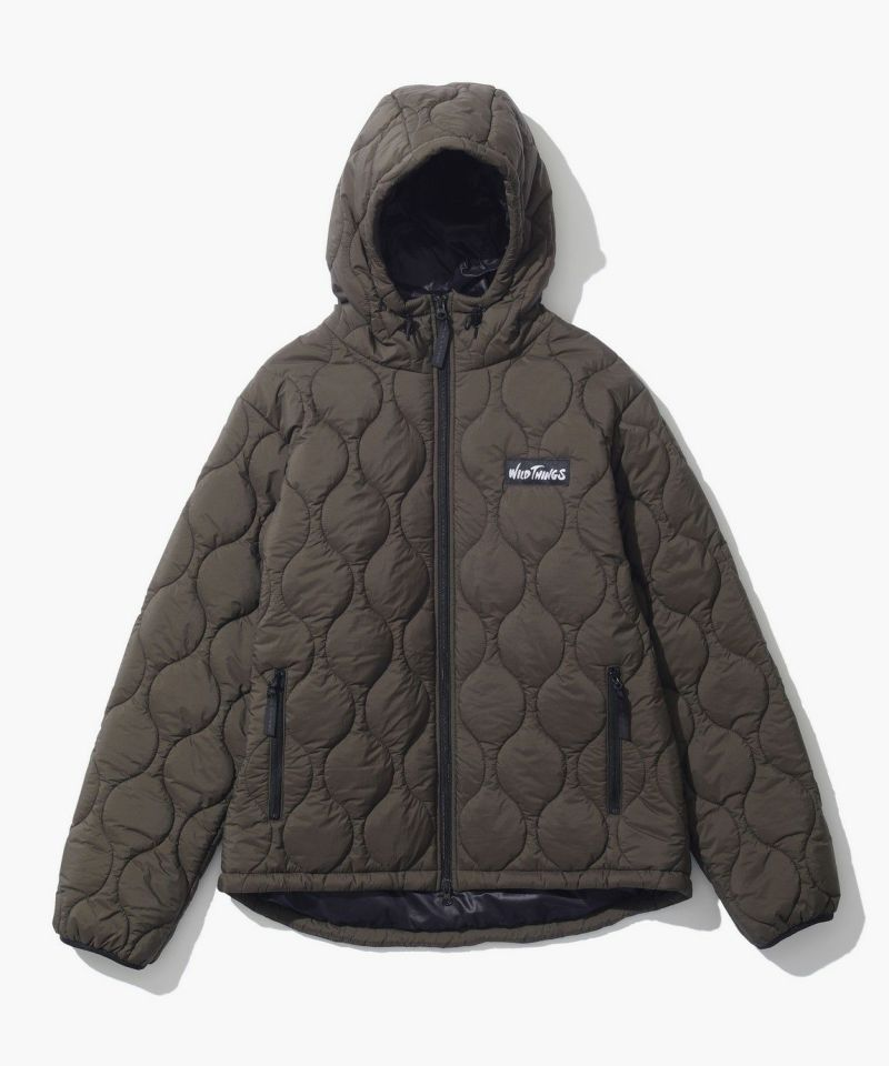 QUILTED HOOD JACKET
