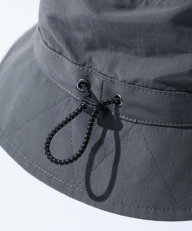 SUPPLEX NYLON  BUCKET HAT