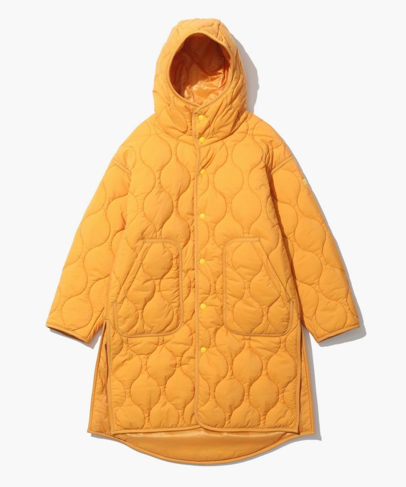 W'S QUILTED  LONG COAT