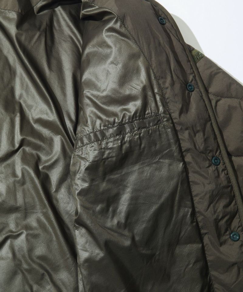 W'S NO COLLAR QUILTED JACKET